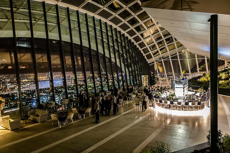 Up on the Roof – London Event Venues with Views