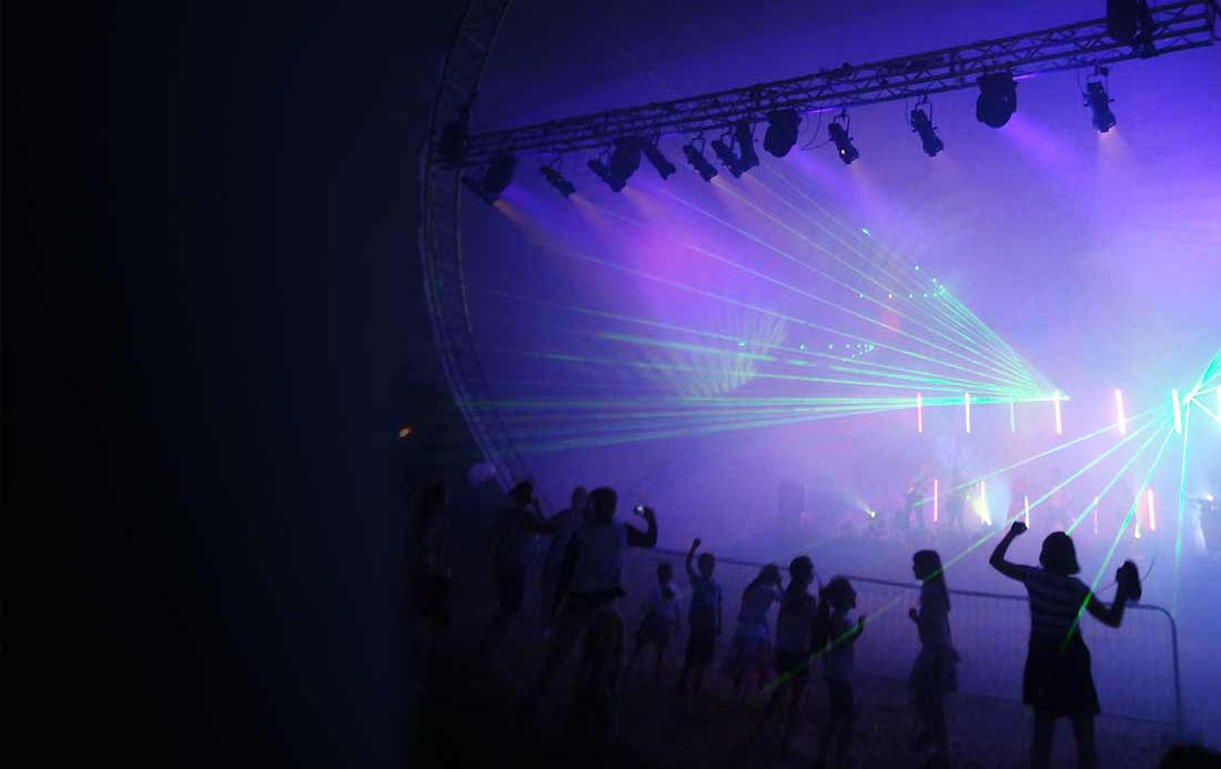 event laser show