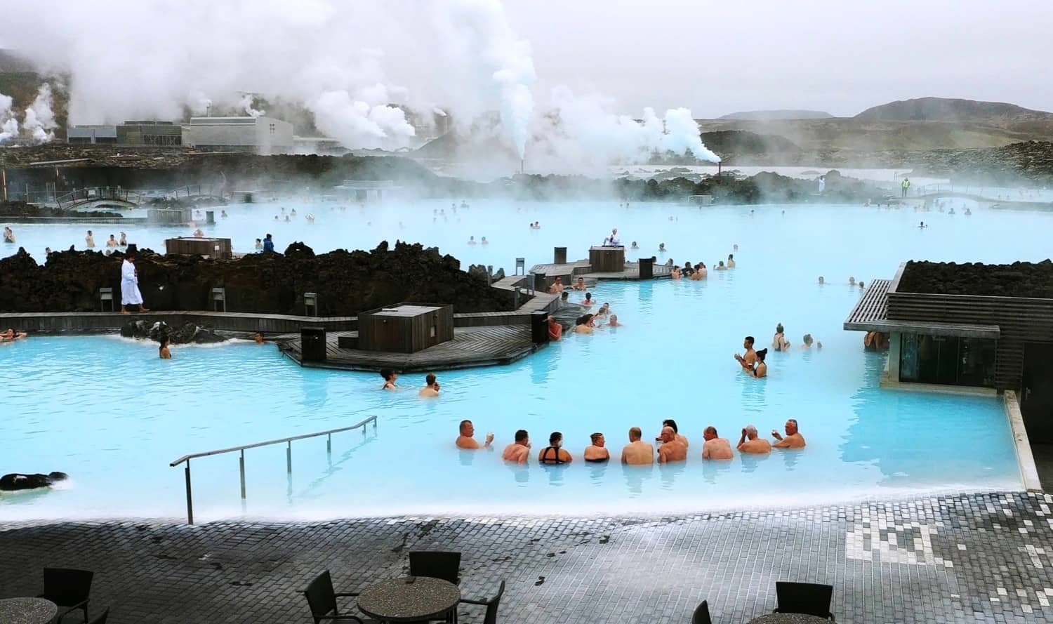 corporate incentive trip to the  blue lagoon Iceland